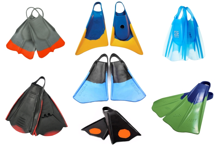 Swim fins: bodysurfers need light and floating propulsion