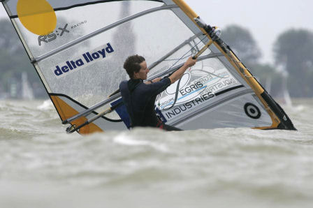 Julien Bontemps; the winner of the 2008 Delta Lloyd Regatta