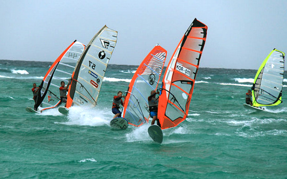 Boracay International Funboard Cup: intense racing