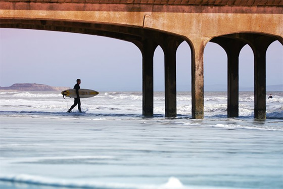Boscombe: a nice place to surf