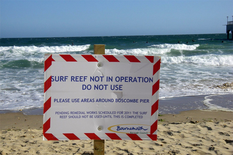 Boscombe surf reef: bad for surfers, great for divers