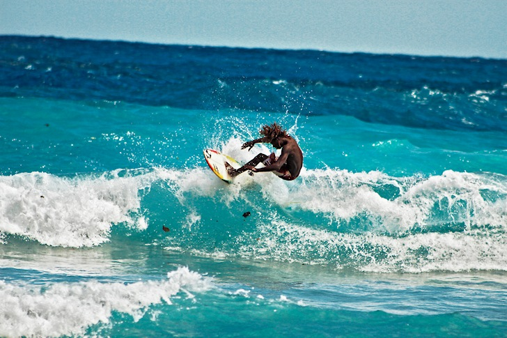 Boston Bay: the home of Jamaican surfing | Photo: BeauScottFoto.wordpress.com