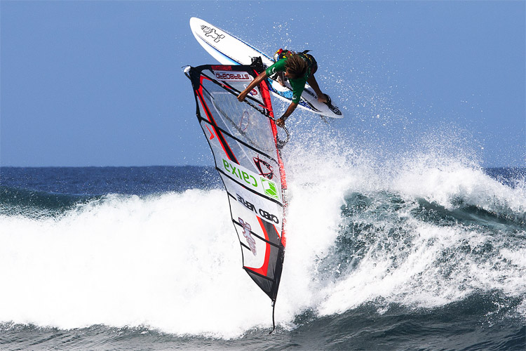 Boujmaa Guilloul: wave and freestyle master | Photo: PWA/Carter