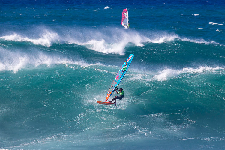 Boujmaa Guilloul: the 2016 American Windsurfing Tour champion | Photo: Carter/PWA