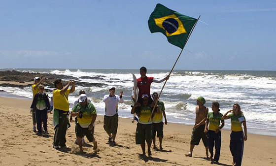 Brazil take the South American Beach Games in great style
