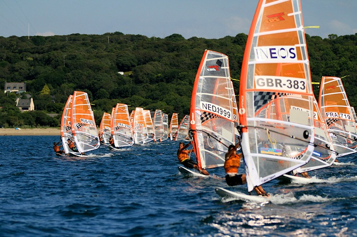 2014 Techno 293 World Championship: great winds in Brest