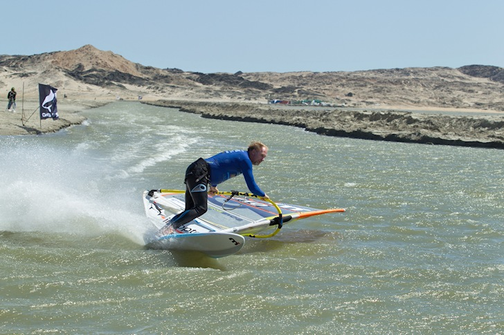 Anders Bringdal: 45.47 knots at Luderitz | Photo: Luderitz Speed Challenge