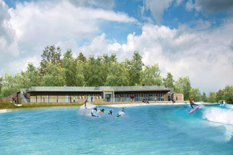 The Wave Bristol: the first full-size Wavegarden Cove facility open to the public in Europe | Illustration: The Wave Bristol