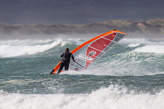British wavesailing: plenty of great rides