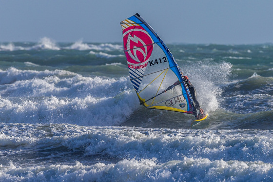 BWA Tour: the best wave windsurfers in the best British waves | Photo: Dave White