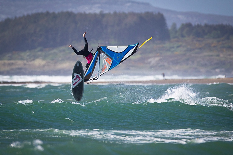 BWA Tour: crazy windsurfing | Photo: Si Crowther