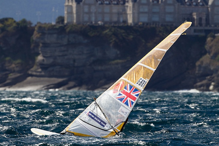 RS:X Windsurfing: chasing spots for Rio 2016 | Photo: Santander 2014