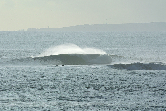 Broadbench is a quality wave in Kimmeridge Bay, described by many as one of Britain's best.