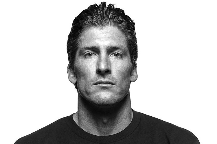 Bruce Irons: the slicked back surfer haircut