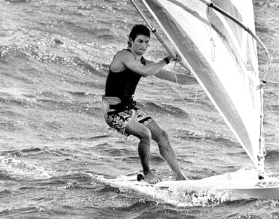 Bruce Kendall: we hope Barbara understands that we can only show one windsurfer photo at a time