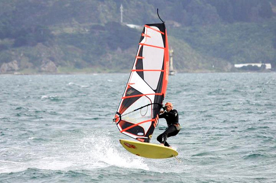 Bruce Spedding: the Kiwi windsurfing challenger