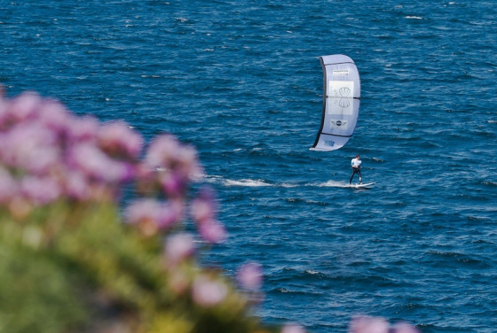 Bruno Sroka: he wants the English Channel kite record