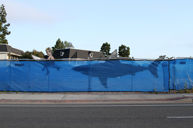 Carlsbad: the new street art installation by Bryan Snyder | Photo: Snyder Art