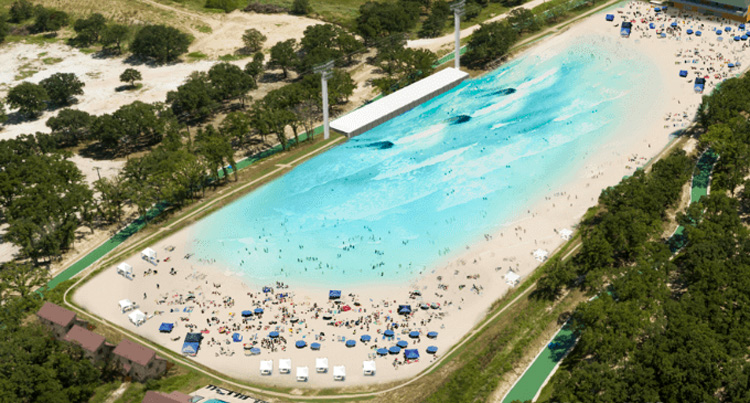 There is a new surf pool coming to Texas