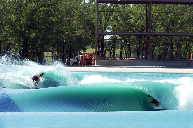 BSR Surf Resort: the artificial wave by American Wave Machines | Photo: AWM