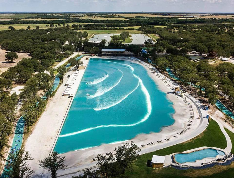BSR Surf Resort: the wave pool is located in Waco, Texas | Photo: BSR Cable Park