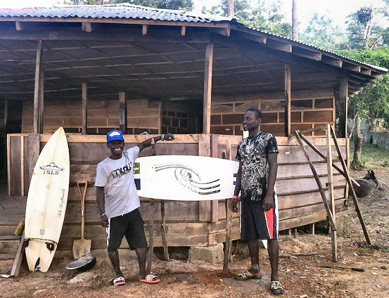 Bureh Beach Surf Club: Sierra Leone wakes up for surfing