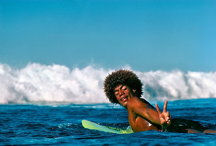 Montgomery 'Buttons' Kaluhiokalani: the peaceful surfer | Photo: Jeff Divine