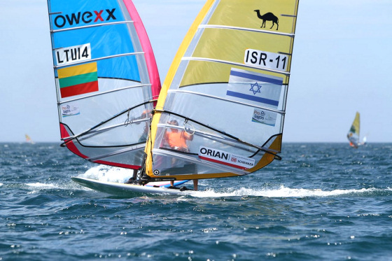 RS:X Worlds: shocking battles at Buzios