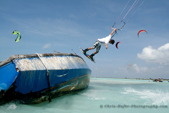2010 BVI Kite Jam: it must be fun to party with Sir Richard Branson