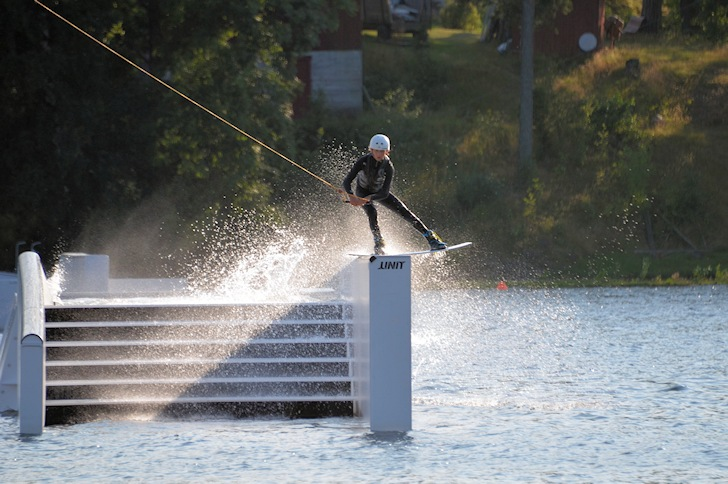 Norsjø Cable Park: Ben Zilbermann seems to enjoy the spot | Photo: VM Cable Wakeboard 2014