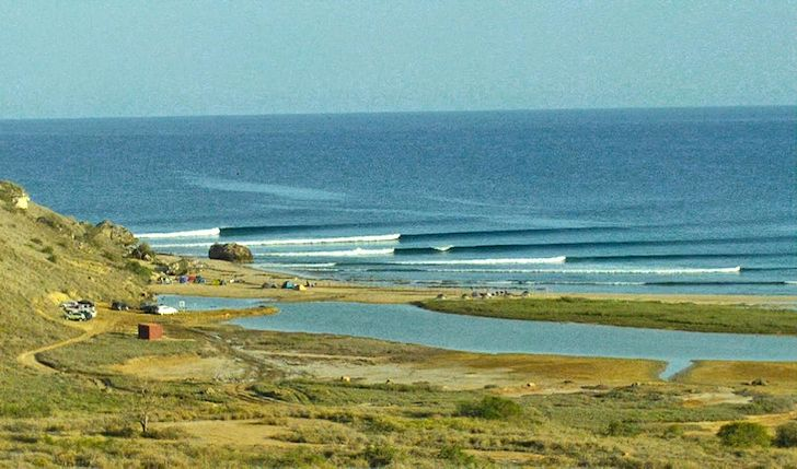 Cabo Ledo: Angola's perfect wave train