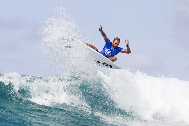 Caio Ibelli: the 2016 Rookie of the Year is not happy with the WSL | Photo: WSL