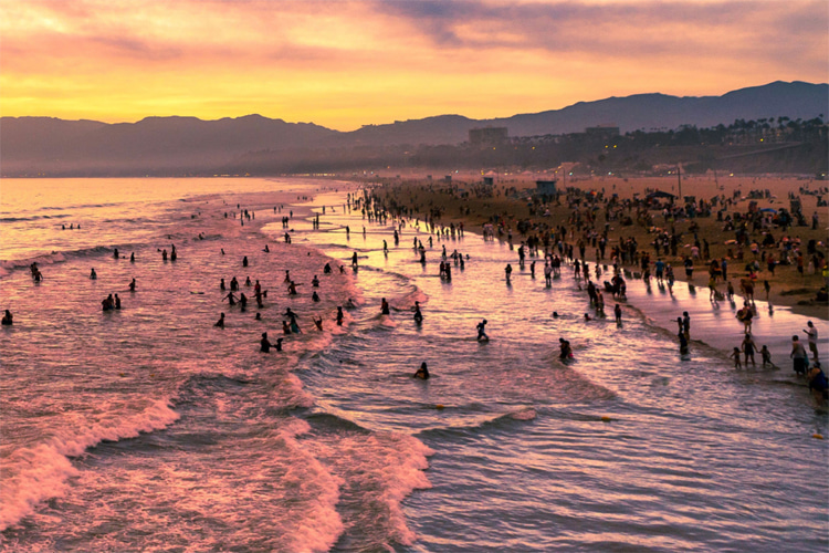 2019-2020 Heal the Bay Beach Report Card: 92 percent of 500 California beaches earned an A or B grade during the summer season | Photo: Heal the Bay