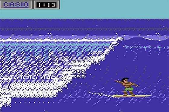 California Games, 1987: one day, surfing games will be like this