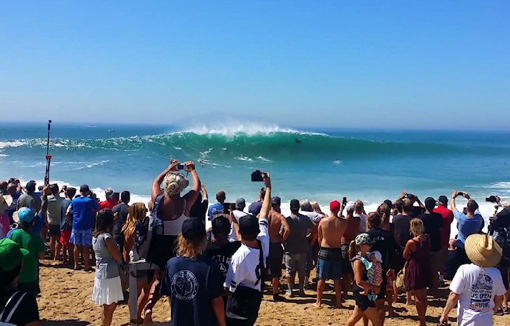 The Wedge: a whitewater nightmare designed by Hurricane Marie