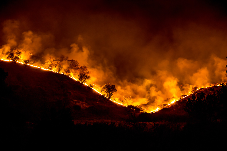 Fire season: 85 percent of California wildfires are caused by humans | Photo: Creative Commons