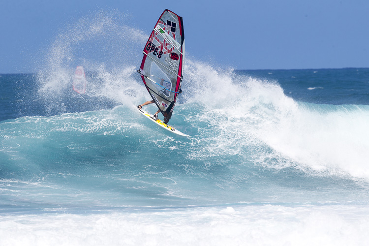 Camille Juban: the 2015 American Windsurfing Tour champion | Photo: Carter/PWA