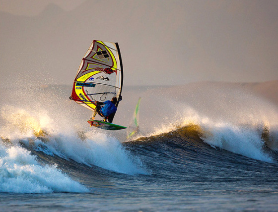 Camille Juban: wave windsurfing life