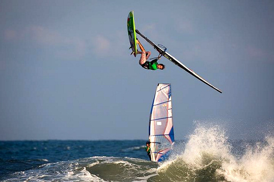 Camille Juban: flying for the American Windsurfing Tour title