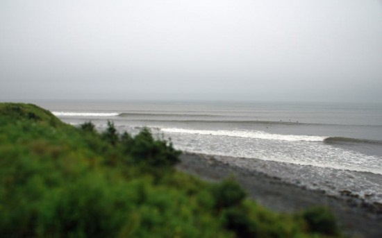Surfing in Canada: it must be quite lonely...