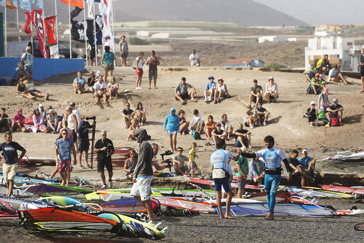 El Medano: a windsurfing center | Photo: Carter/PWA