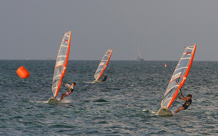 2014 North American Windsurfing Championships: tight battles