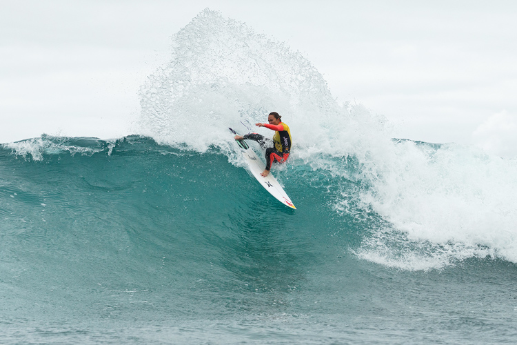 Carissa Moore: three cosecutive Bells Beach titles | Photo: Cestari/WSL