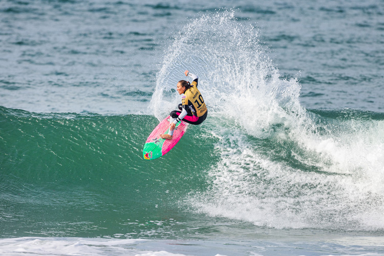Carissa Moore: the Hawaiian is chasing her fourth world title | Photo: Masurel/WSL