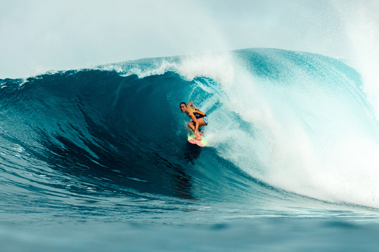 Carissa Moore: the most successful Hawaiian competitive surfer of all time | Photo: Miers/WSL