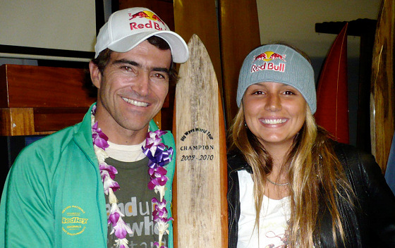 Carlos Burle and Maya Gabeira: Brazilians and XXL wave chargers