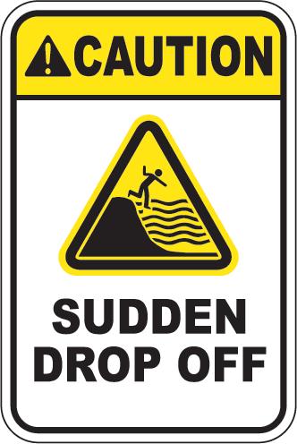 Caution: Sudden Drop Off