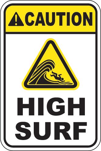 Caution: High Surf