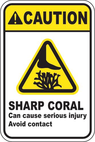 Caution: Sharp Coral