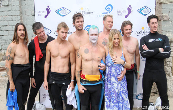 Celebrity Surfers: no, it isn't a reality show
